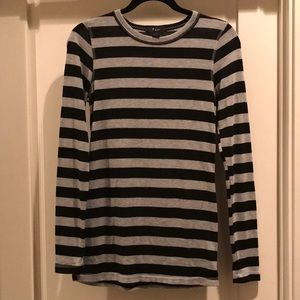 Striped Stretchy Top